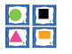 Geometric Calendar Shapes