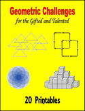 Geometric Challenges for the Gifted and Talented