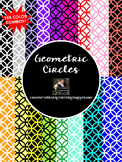 Geometric Circles Backgrounds