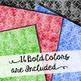 Geometric Circles - Watercolor Texture - Digital Papers