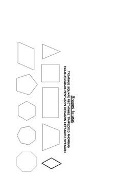 Geometric City Rubric