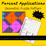 Percent Applications Color Mystery Pattern