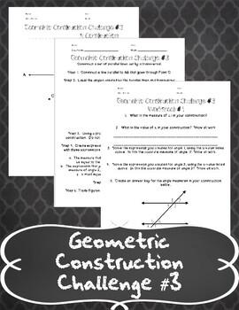 Geometric Construction Challenge #3