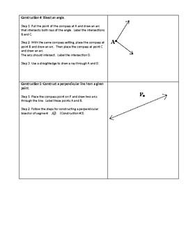 Geometric Constructions