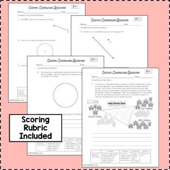 Geometric Constructions Assessment Test