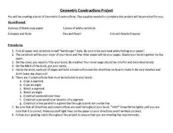 Geometric Constructions Book