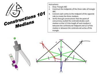 Geometric Constructions- Medians