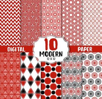 Geometric Digital Paper