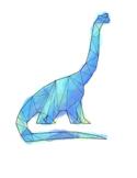 Geometric Dinosaur Bundle Clip Art
