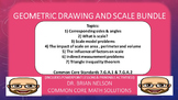 Geometric Drawing and Scale Bundle (PowerPoint Lessons and Printables!)