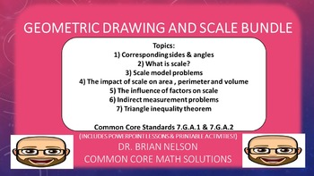 Geometric Drawing and Scale Bundle (PowerPoint Lessons and