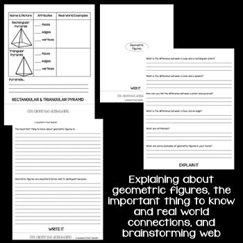 Geometric Figures Interactive Flip Book