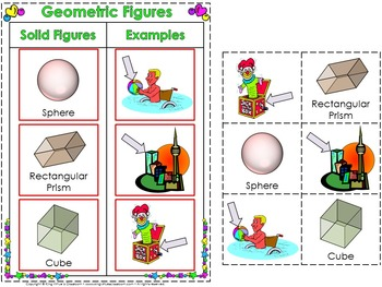 Geometric Figures Interactive Notebook BUNDLE - Plane and Solid Figures