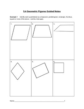 Geometric Figures Lesson 4 of 7