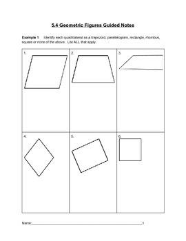 Geometric Figures Lesson 4 of 7