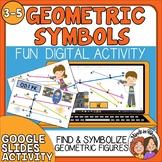Geometric Figures Lines, Rays, Line Segments, and Angles - Digital Google Slides