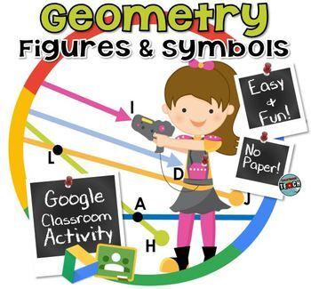 Geometric Figures~ Lines, Rays, Line Segments, and Angles GOOGLE CLASSROOM