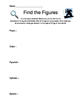 Geometric Figures Search Game