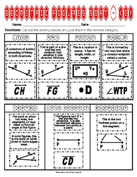 Geometric Figures Sort