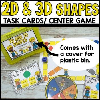 Geometric Figures Task Cards
