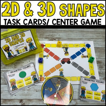 Geometric Figures Task Cards