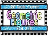Geometric Figures-Task Cards-SOL 3.15