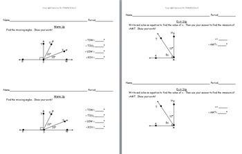 8th Grade Geometry - Geometric Figures and Angles