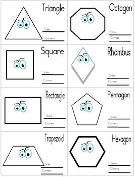 Geometric Flash Cards