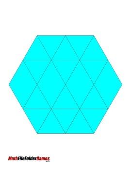 Geometric Fractions {Math Game}
