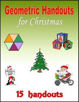 Geometric Handouts for Christmas
