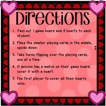 Geometric Heart Match-Up - Valentine's Day Geometry Math Center Game