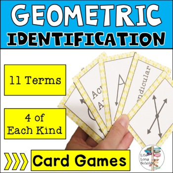 Geometric Identification Go Fish TEKS 4.8A