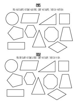 Geometric Jack O'Lanterns