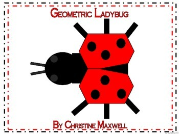 Geometric Ladybug 2D Shapes