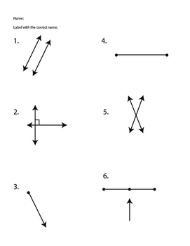 Geometric Lines Worksheet