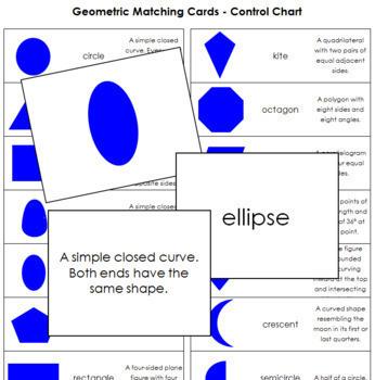 Geometric Matching Cards