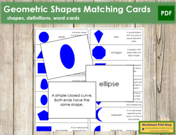 Geometric Matching Cards