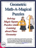 21 Geometric Math Puzzles - Using Number Tiles to Learn about Plane Geometry