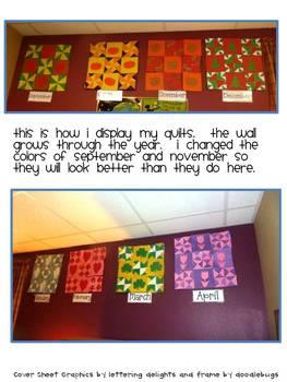 Geometric Math Quilts