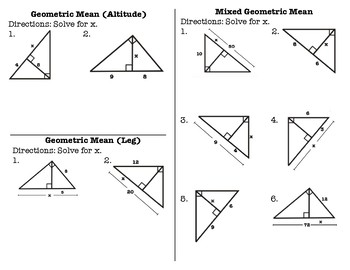 Geometric Mean Foldable