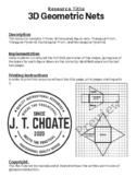 Geometric Nets (Rectangular/Triangular Prism & Pyramid)