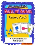 Geometric Nets of Solids Playing Cards