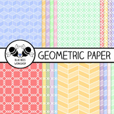Geometric Paper & Backgrounds (Easy TOU)