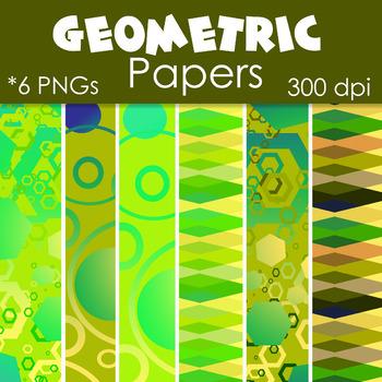 Backgrounds : Geometric Mathematics Theme