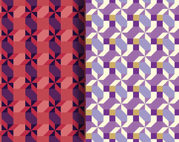 "Geometric Patterns Digital Craft Papers • 21, 12 x 12"" 300 DPI Clip Art Pages"
