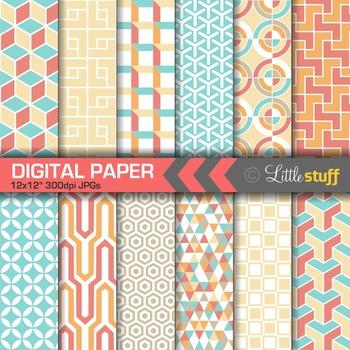 Geometric Patterns Digital Paper