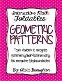 Geometric Patterns Interactive Math Foldable