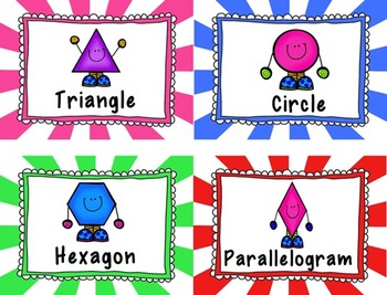 Geometric Polygons & Quadrilaterals -- A Heap of Helpful Resources!!