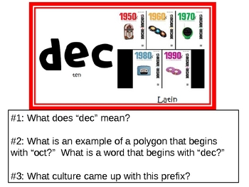 Geometric Prefixes PowerPoint