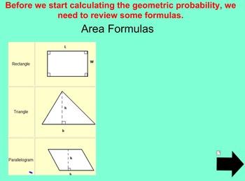 Geometric Probability Lesson